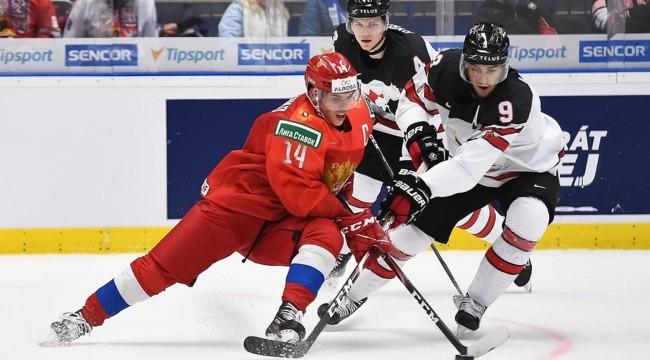 Хоккей чемпионат мира кто занял 1 место