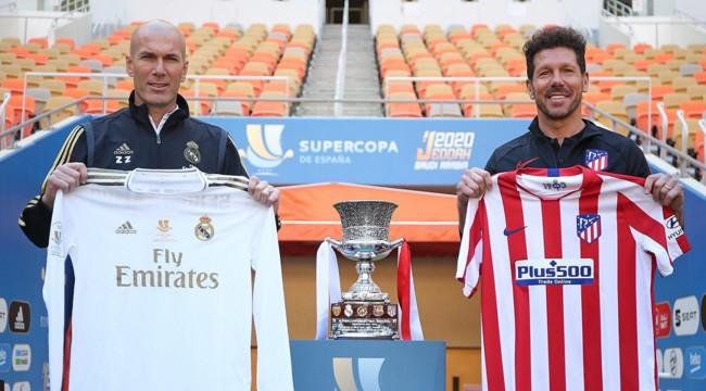 Суперкубок испании по футболу видео