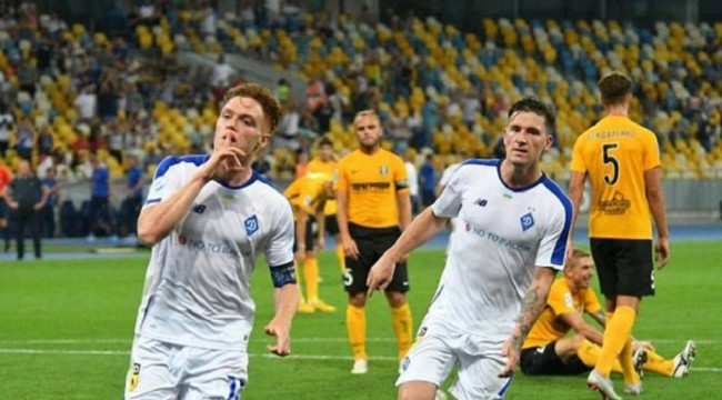 Голы в матче динамо боруссия видео