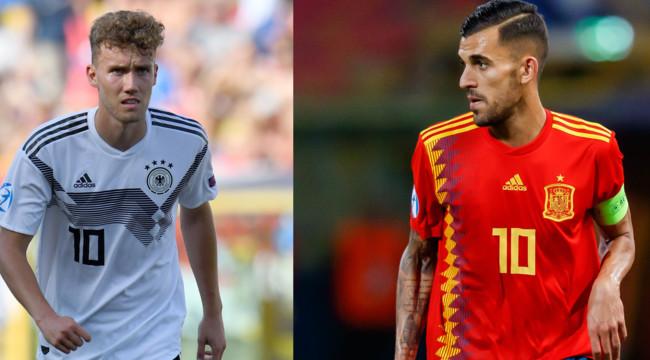 Онлайн трансляция футбола германия испания