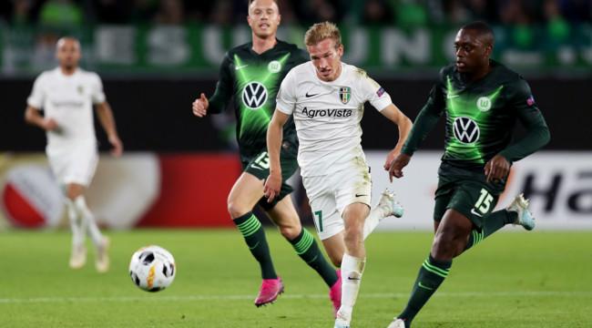 Реал вольфсбург на канале футбол 2