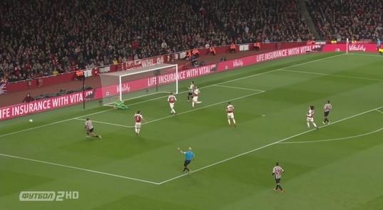 Арсенал ньюкасл смотреть 2 тайм