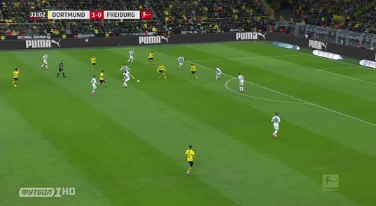 Фрайбург 1- 0 боруссия онлайн смотреть