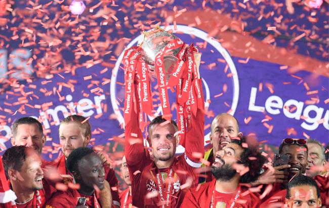 Ливерпуль - чемпион Англии