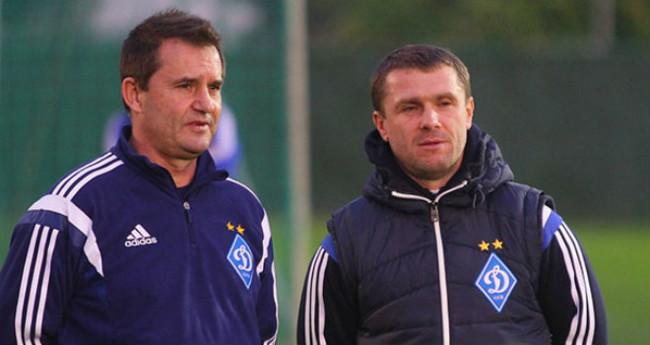 Рауль Рианчо и Сергей Ребров