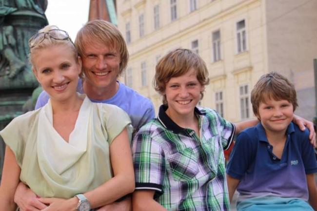 Андрей Гусин семья