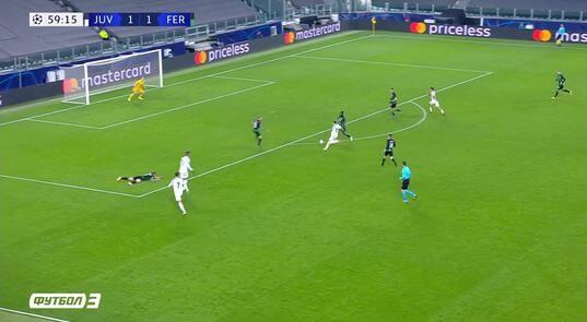 Yuventus Ferencvarosh 2 1 Obzor Matcha Liga Chempionov 24 11 2020 Telekanal Futbol
