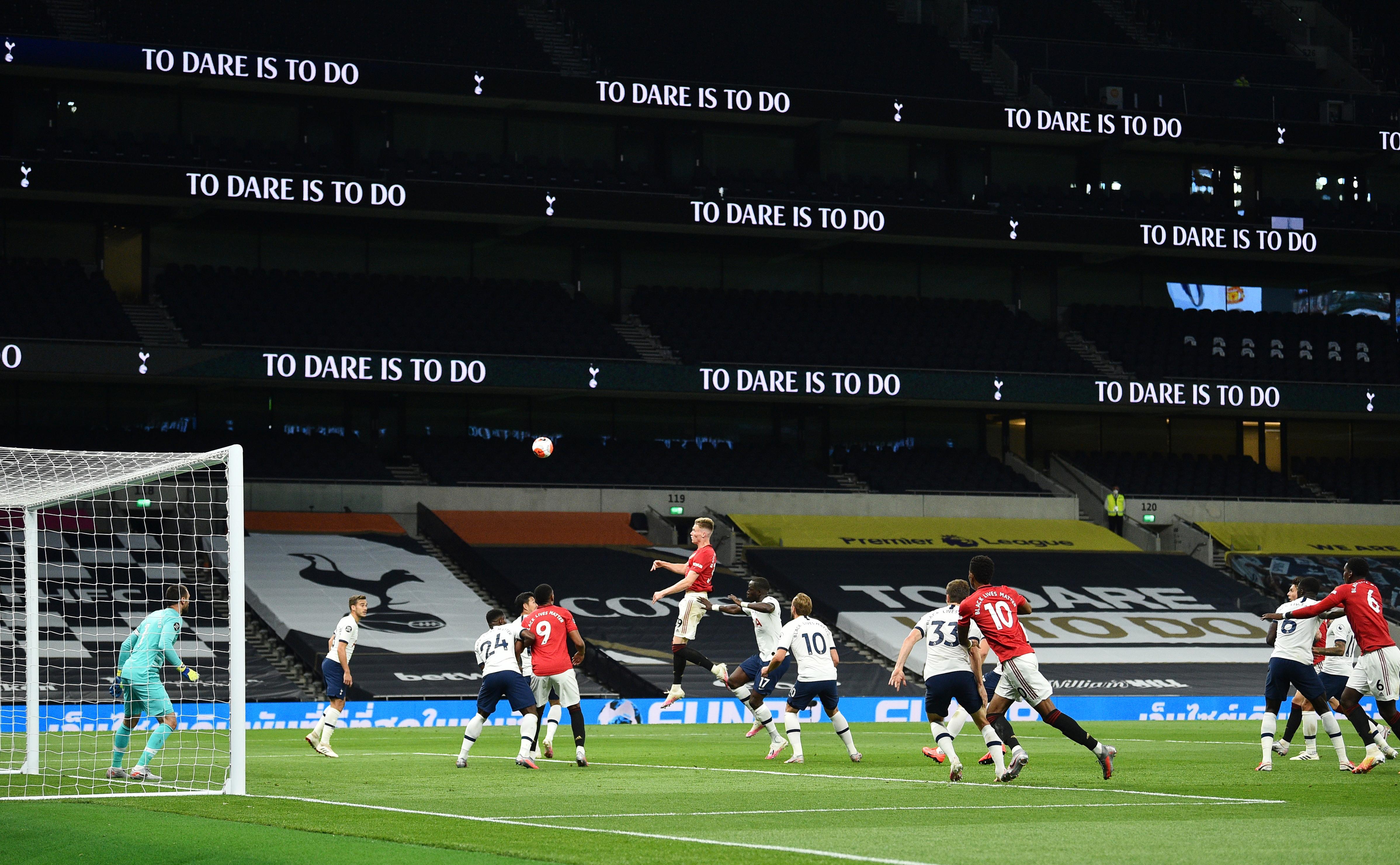 Тоттенхэм МЮ онлайн трансляция - смотреть онлайн матч 19.06.2020